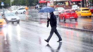 Başkent'te yağmur