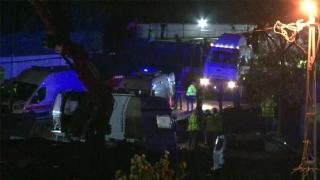 Arnavutköy'de metro şantiyesinde kaza: 3 işçi yaralandı