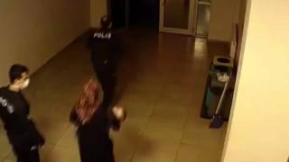 Polisin müdahalesi bebeğin hayatını kurtardı