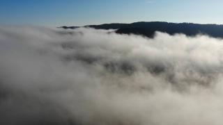 Kazdağları'nda bulut geçişleri