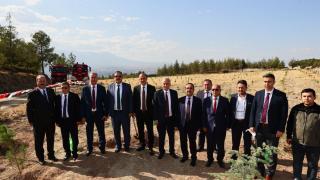 Tarım ve Orman Bakan Yardımcısı Özkaldı, Denizli'de incelemelerde bulundu