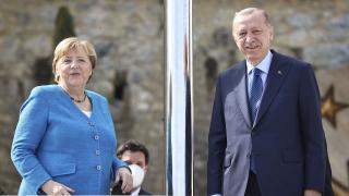 Almanya Başbakanı Angela Merkel Türkiye'de