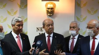 Ersin Tatar: Belirli sayıda Türk askeri mutlaka Kıbrıs'ta kalmalı