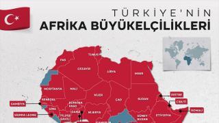 Türkiye'nin 43 Afrika ülkesinde büyükelçiliği var