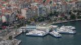 İzmir'deki vapur seferleri yeniden iptal