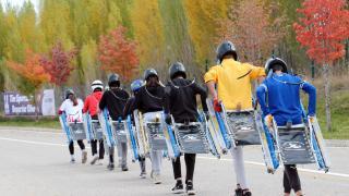 Kızakçılar asfaltta yarışacak
