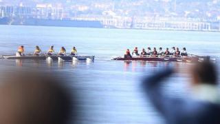 İzmit Körfezi'nde deniz küreği yarışı