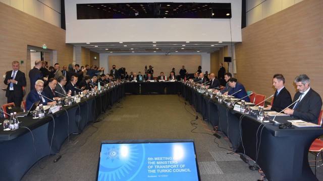 Türk Konseyi Ulaştırma Bakanları 5. Toplantısı Macaristanda düzenlendi