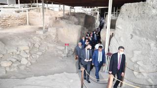 Arslantepe Höyüğü alanında yapılacak çalışmalarla ilgili Malatya'da toplantı düzenlendi