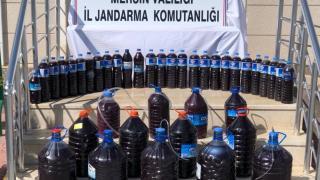 Mersin'de 200 litre sahte içki ele geçirildi