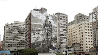 Küllerden doğan duvar resmi