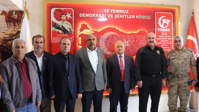 Mehmetçik Vakfından, Siirt Gazi ve Şehit Aileleri Güvenlik Korucuları Federasyonuna ziyaret