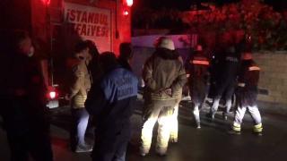 Silivri'de kaçak elektrik kablosu yangın çıkardı