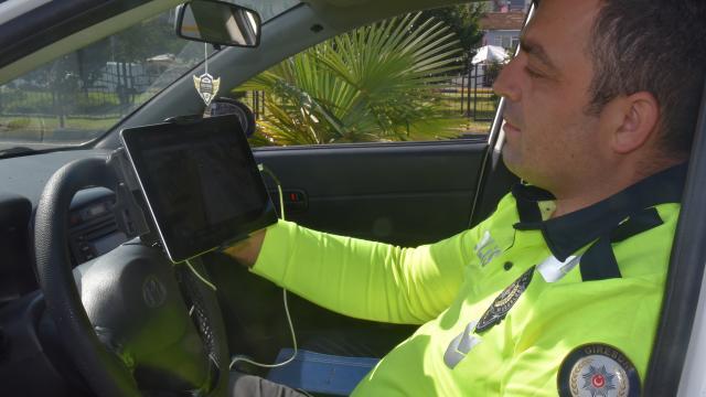 Görelede drone destekli trafik denetimi gerçekleştirildi