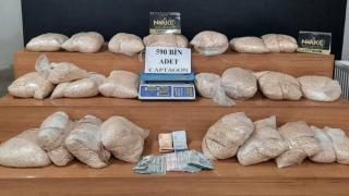 Şanlıurfa'da depoda 590 bin uyuşturucu hap ele geçirildi