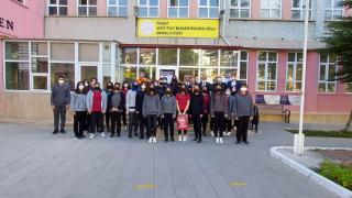 Yozgat'ta lise öğrencileri AFAD gönüllülük sistemi hakkından bilgilendiriliyor