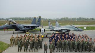 ABD'nin F-15 uçakları tatbikat için Bulgaristan'da