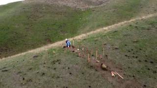 TRT Haber Karabağ'daki mayın arama çalışmalarını görüntüledi
