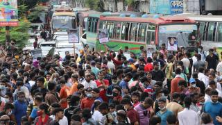 Bangladeş'te Hindular, artan şiddet olaylarını protesto etti