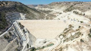 Mersin'deki Aksıfat Barajı'nın yapımı sürüyor