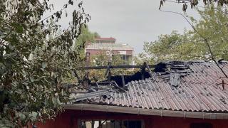 Başahşehir'deki yangında 1 ev kullanılamaz hale geldi
