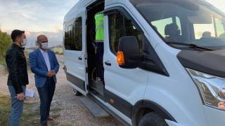 Erbaa'da okul servisleri denetlendi