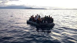 Tunus açıklarında 31 düzensiz göçmen kurtarıldı