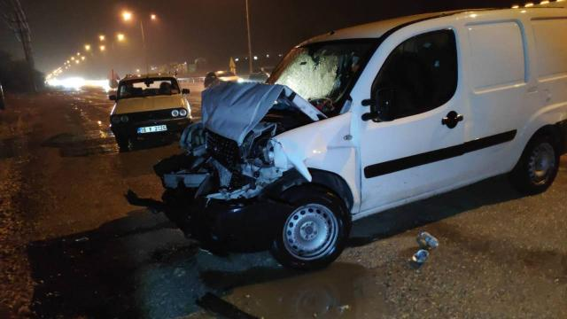 Bursa'da zincirleme kaza: 4 yaralı