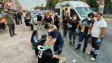 Mersin'de özel halk otobüsü ile minibüs çarpıştı: 20 yaralı