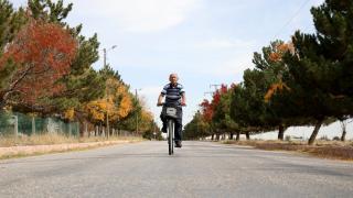 `Bisiklete bindiğim için kendimi daha dinç hissediyorum'
