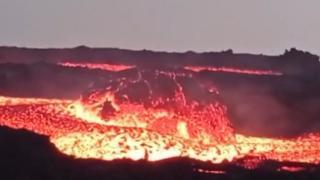 La Palma'daki yanardağda korkutan lav topları