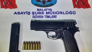 Malatya'da asayiş uygulamasında yakalanan 4 zanlı tutuklandı