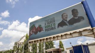 Nijeryalılar heyecanla Cumhurbaşkanı Erdoğan'ı bekliyor
