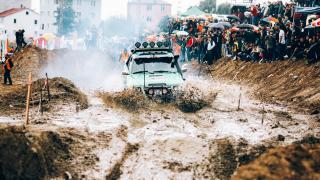Espiye ilçesinde off-road yarışı gerçekleştirildi