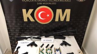 Mardin'de silah kaçakçılığı operasyonunda yakalanan 7 zanlı tutuklandı