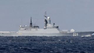 Çin-Rus savaş gemileri ilk kez Tsugaru Boğazı'ndan geçti
