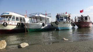 Van Gölü'nde balıkçıların kuraklıkla imtihanı