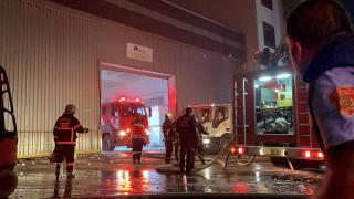 Gaziantep'te çıkan fabrika yangını kontrol altına alındı