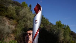 2022 Kış Olimpiyatları meşalesi Pekin'e ulaştı