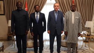 Afrika'daki dörtlü zirve sonrası bildiri: Terörle mücadele vurgusu