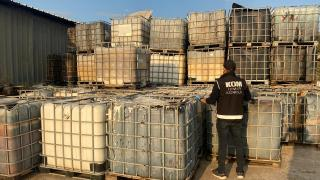 İzmir'de 109 bin 500 litre karışımlı akaryakıt ele geçirildi