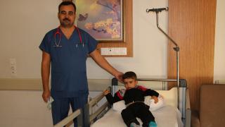 Şanlıurfa'da kalbi delik çocuk anjiyo ile sağlığına kavuştu
