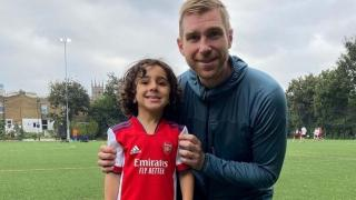 4 yaşındaki Zayn Ali Salman Arsenal'a transfer oldu