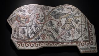 'Bağ Bozumu Mozaiği' görücüye çıkmaya hazır
