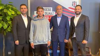 Beşiktaş Semih Kılıçsoy ile profesyonel sözleşme imzaladı