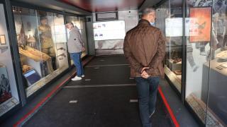 """""""Çanakkale Savaşları Mobil Müzesi"""" Bolu'da ziyaretçilere açıldı"""
