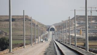 Çerkezköy-Kapıkule demir yolu hattının yüzde 50'si tamamlandı