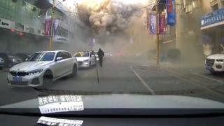 Çin'de doğal gaz patlaması