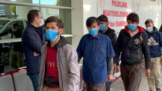 Kırıkkale'de 10 düzensiz göçmen yakalandı