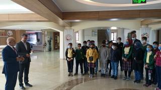 Keban Atatürk İmam Hatip Ortaokulu öğrencileri düzenlenen geziye katıldı